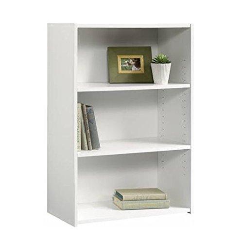 small bookcase, white bookcase