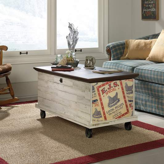 rustic coffee tables, trunk coffee table, rolling coffee tables