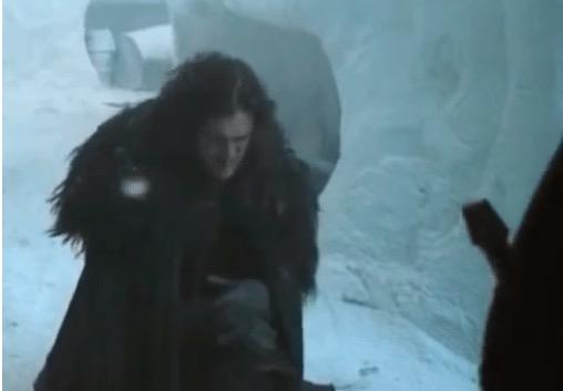 jon snow bend the knee