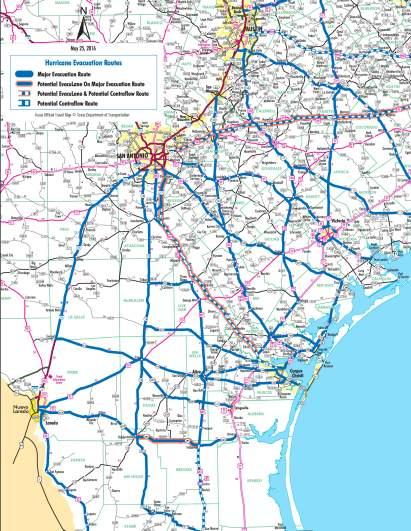 Corpus Christi Evacuation Route