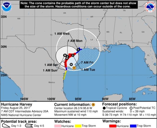 Hurricane Harvey Dallas