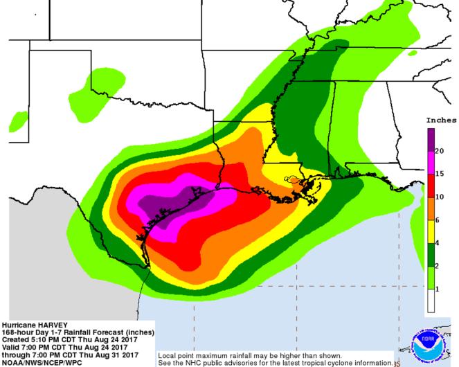 Hurricane Harvey Austin