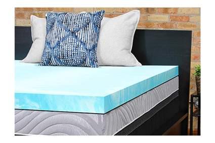 cooling memory foam mattress pad
