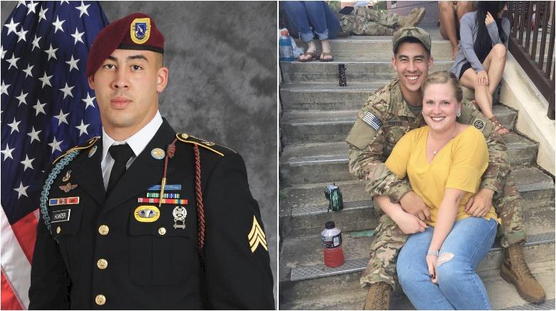 jonathon hunter, sergeant jonathon hunter, jonathon hunter soldier killed afghanistan, whitney hunter, jonathon hunter gofundme