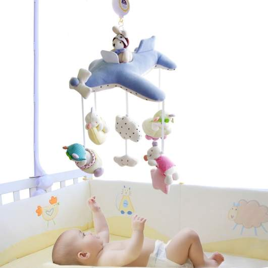 Shiloh Deluxe Baby Plush Crib Mobile, airplane mobile, plush mobile, best baby mobiles, baby mobiles, best crib mobiles, crib mobiles, mobiles for boys, mobiles for girls, soft mobile