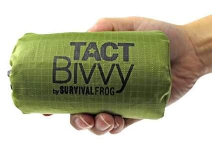 survival frog, sleeping bag, survival, nuclear emergency