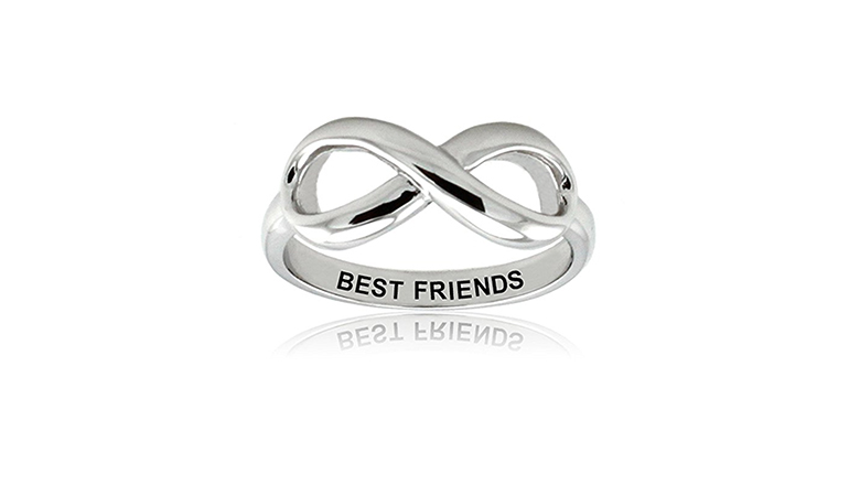 best friend jewelry, best friend rings, friendship rings, bff rings