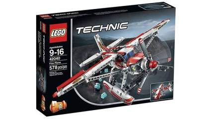 technic fire plane