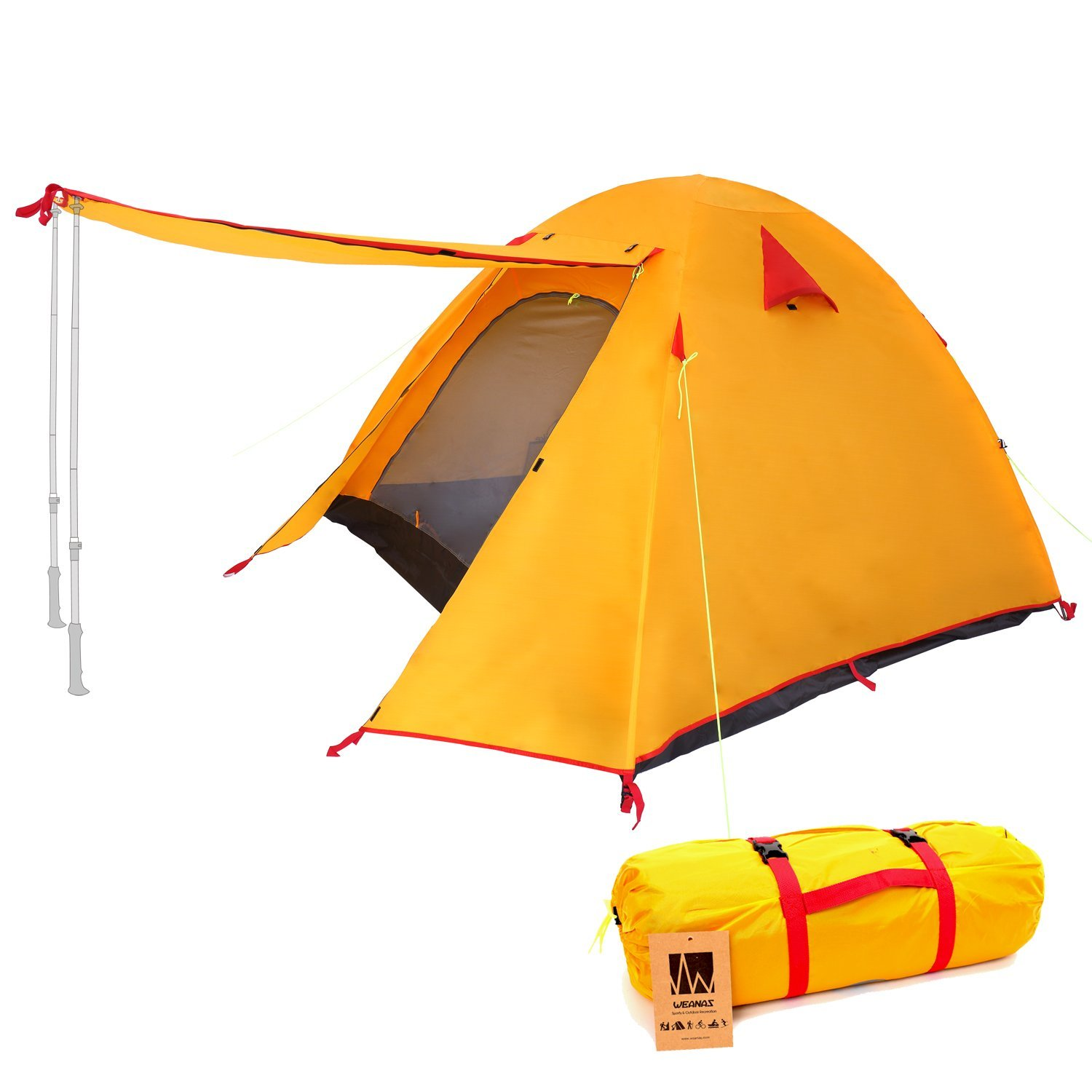 weanas, tent, camping, road trip, cross country