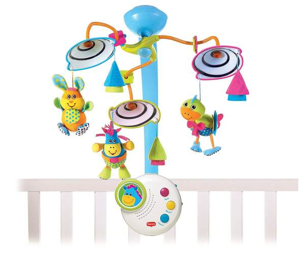 Tiny Love Classic Developmental Mobile, best baby mobiles, baby mobiles, crib mobiles, best crib mobiles, musical mobile, high contrast mobile, developmental mobile