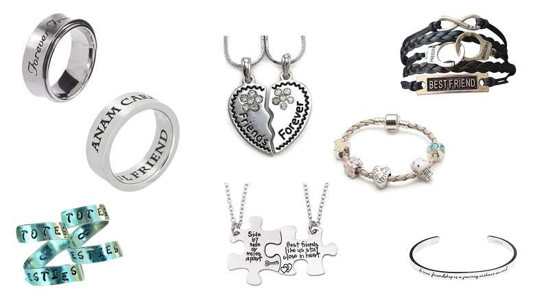 best friend jewelry, best friend rings, friendship rings, friendship bracelets, friendship necklaces, best friend necklaces