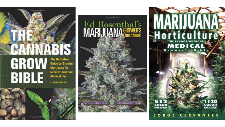growing marijuana, growing weed, growing cannabis , grow bible, weed books
