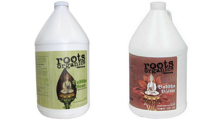 Roots Organics Buddha Grow & Buddha Bloom Fertilizer