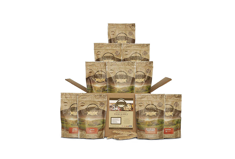 valley food storage, rations, emergency prep, emergency food supplies