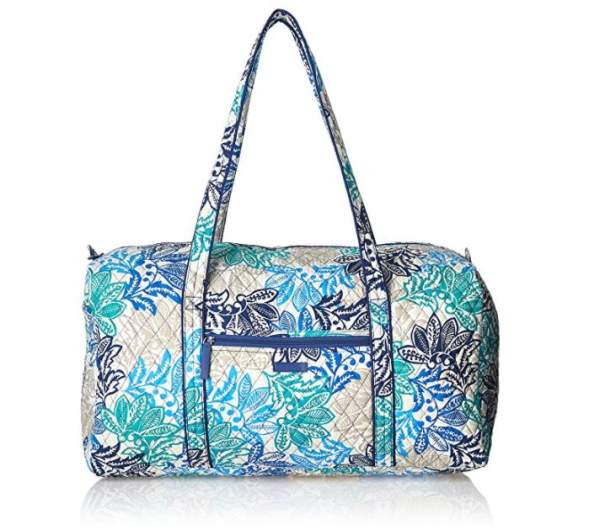 vera bradley large duffel, best nice luggage, best nice travel bags, best nice carry on