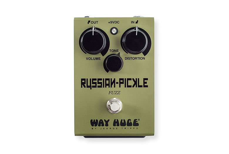 Image of way huge russian pickle