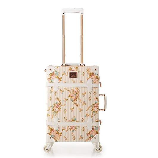 women floral travel suitcase, cute luggage sets, cute luggage bags and suitcases, cute luggage sets, cute carryon bags