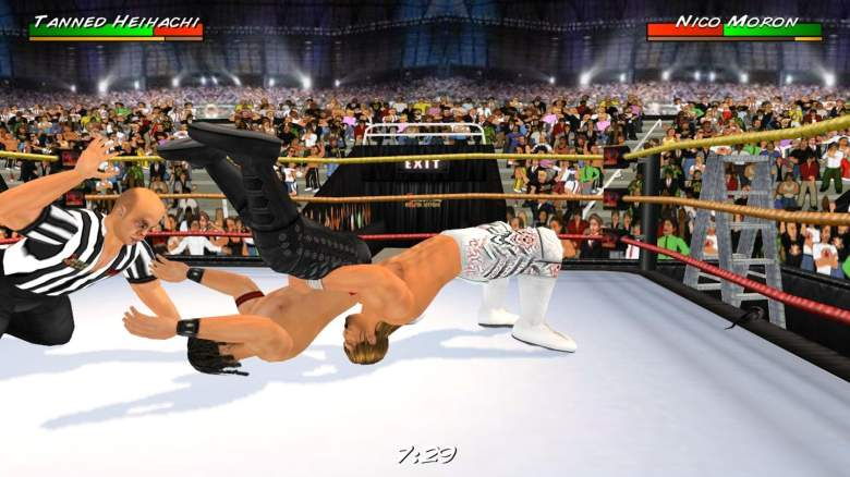 The Best Mobile Wrestling Games are all