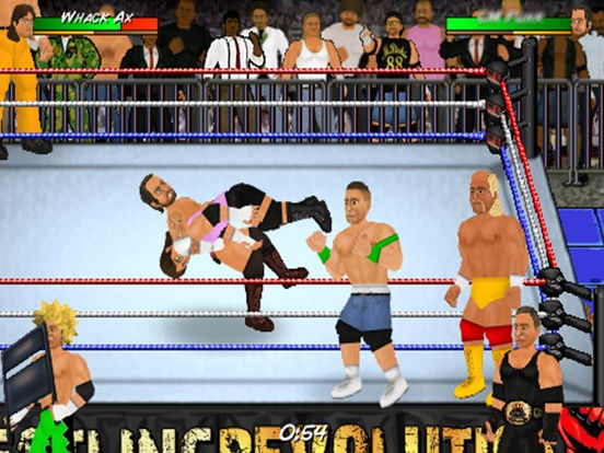 iOS Wrestling Game, Android Wrestling Game, Mobile Wrestling Game,