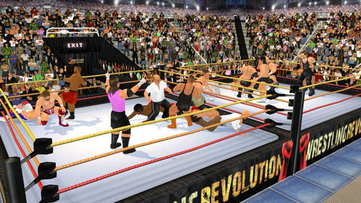 Mobile Wrestling Game, iOS Wrestling Game, Android Wrestling Game,