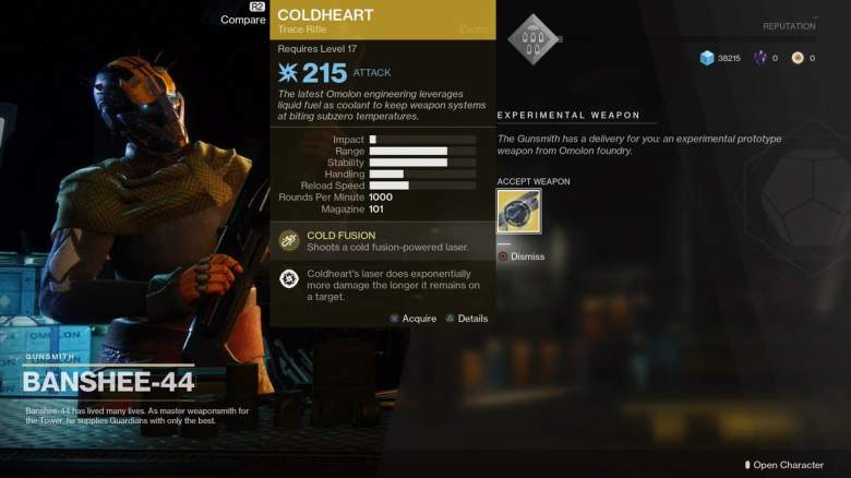 Destiny 2, Cold Heart