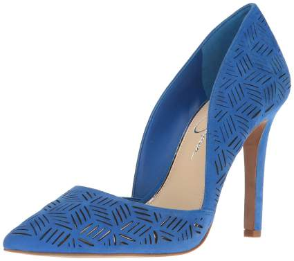 jessica simpson blue shoe