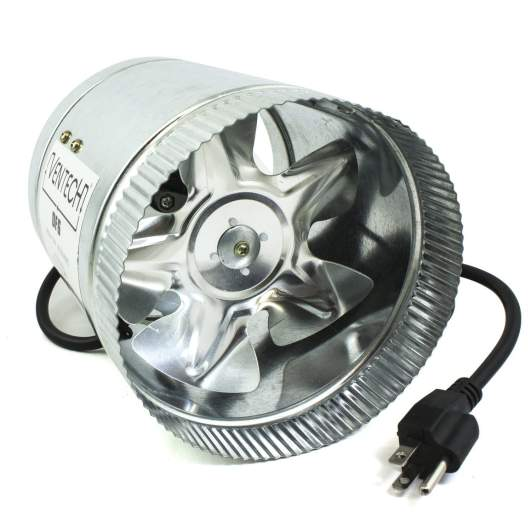VenTech VT DF-6 DF6 240 CFM, 6 Duct Fan