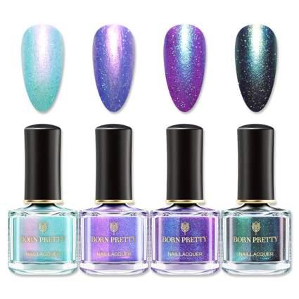 Born pretty mermaid shifting nail polish bottles
