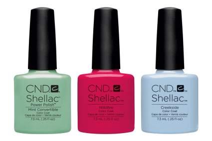 CND nail polish bottles