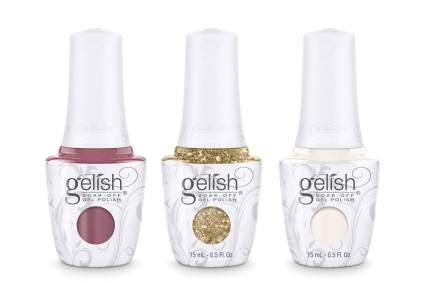 Gelish nail polish bottles
