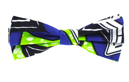 by Bow Tie House Wooden bow tie Moustache pattern pre-tied unisex variety colors