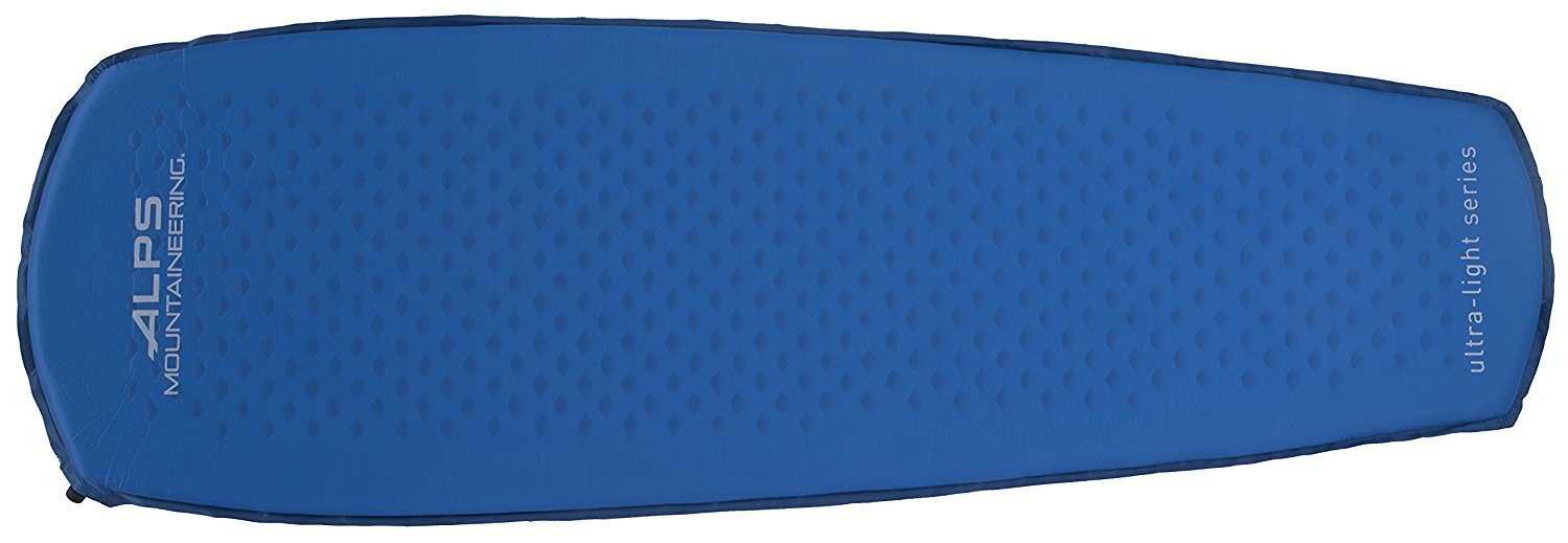 alps mountaineering, camping, sleeping pad, backpacking