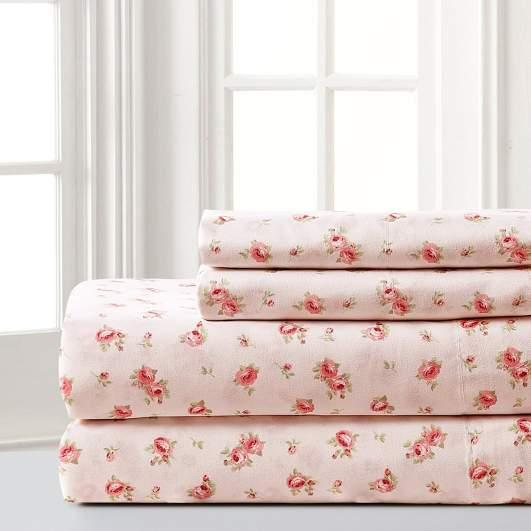printed sheets, rose printed sheets, floral printed sheets