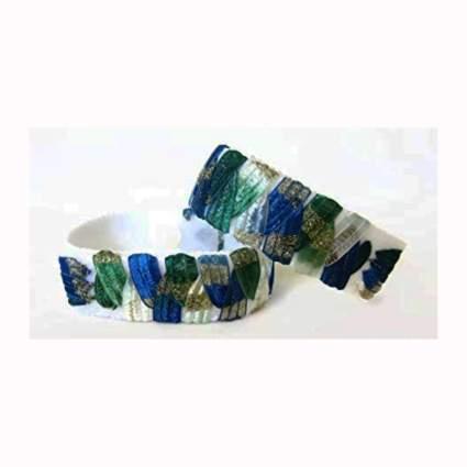 two pack of accupressure anti-nausea bracelets