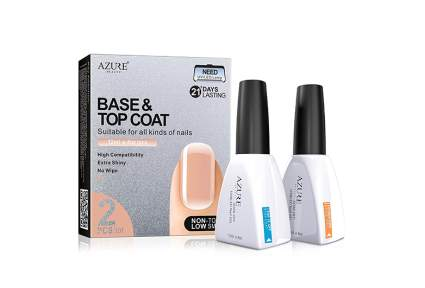get top and base coat from azure beauty