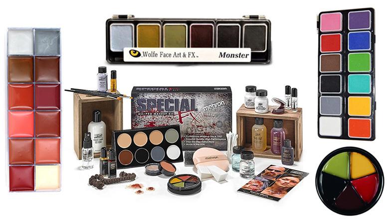 Halloween makeup palette, halloween makeup, halloween face paint, halloween face makeup