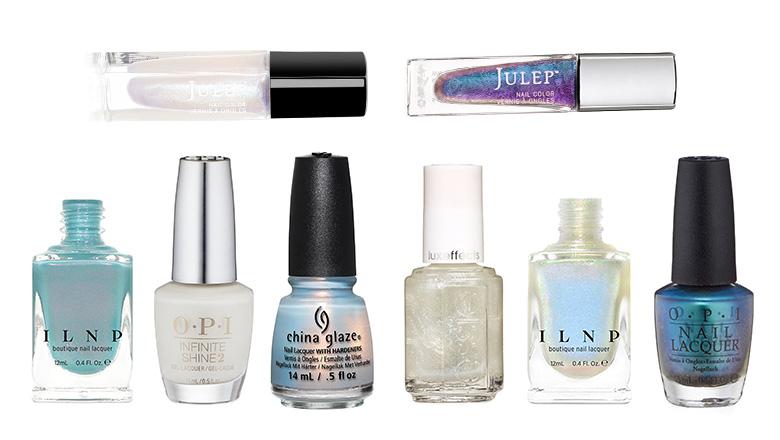 iridescent nail polish, opalescent nail polish, opal nail polish, opalescent nail polish