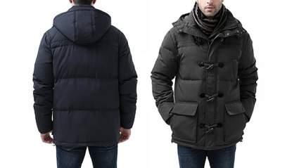 duffel coat for men, duffle coat for men, mens duffle coat, mens toggle coat, bgsd