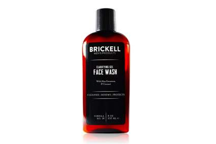 Brickell face wash for men