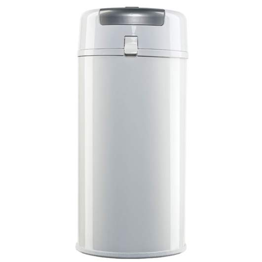 Bubula Steel Diaper Pail (White Silver), diaper pail, best diaper pail, steel diaper pail, best steel diaper pail, best diaper pail for nursery, diaper pail for nursery