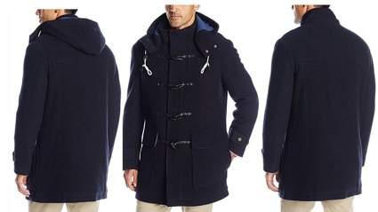 duffel coat for men, duffle coat for men, mens duffle coat, mens toggle coat, cole haan