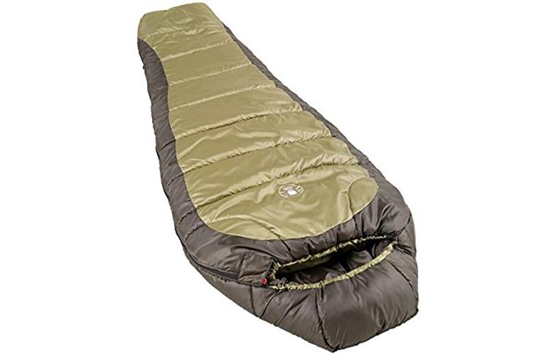 coleman, sleeping bag, winter camping, winter sleeping bag
