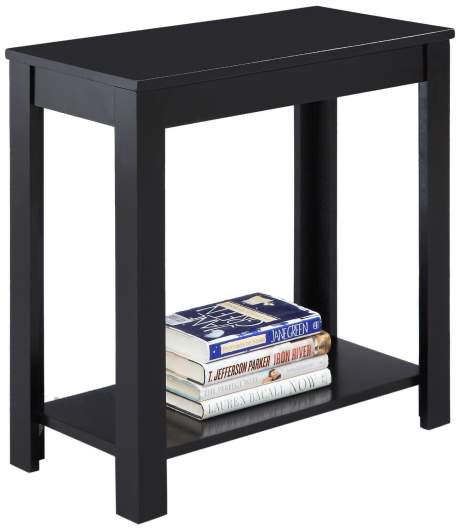 living room side table, end table, narrow side table