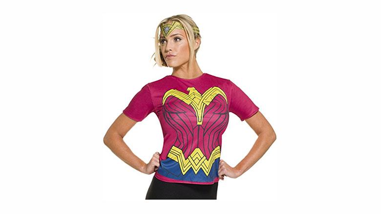 rubie's dawn of justice adult wonder woman top costume, wonder woman costume, wonder woman cosplay, wonder woman costume kids