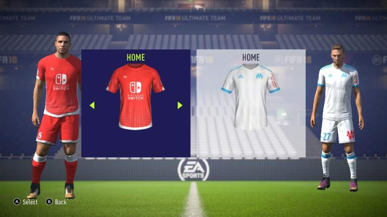 FIFA 18, Nintendo Switch