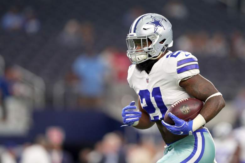 ezekiel elliott, dfs, value, week 1