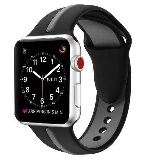 Elobeth silicone band, best apple watch bands, series 3 apple bands, best series 3 apple watch bands