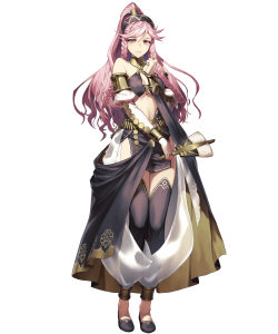 fire emblem heroes performing olivia, fire emblem heroes performing arts, fire emblem heroes olivia