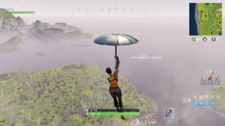 Fortnite: Battle Royale, Umbrella