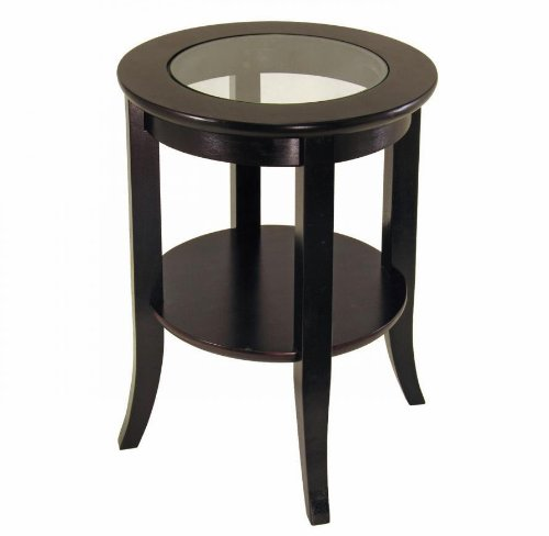 living room side table, round side table, end table